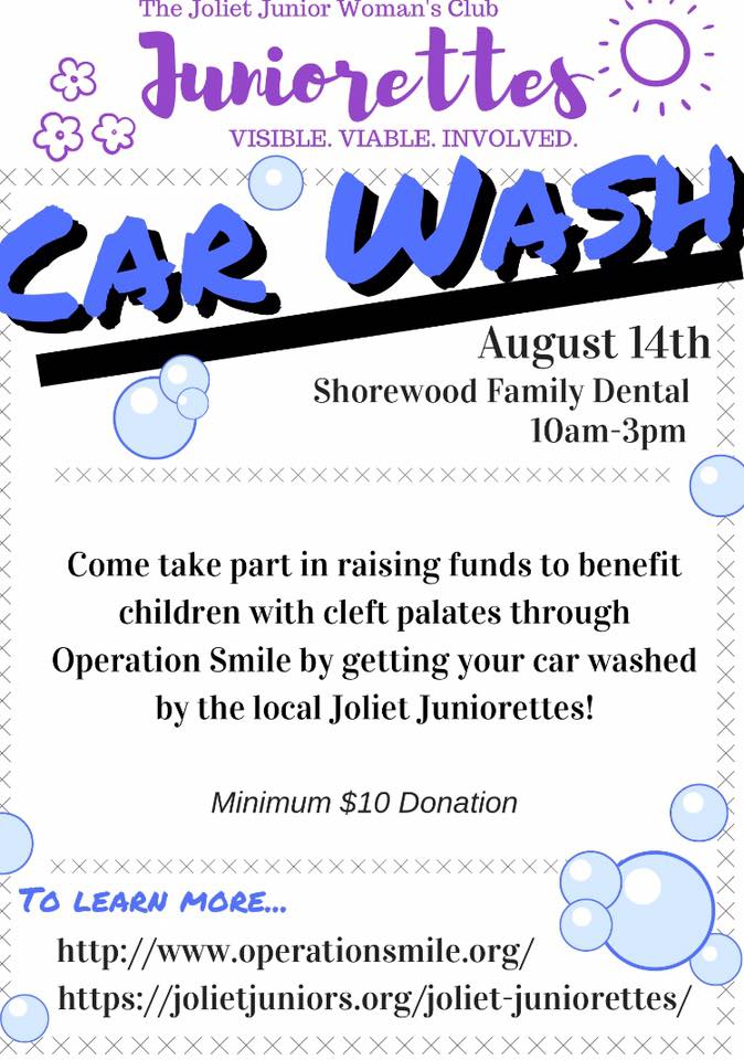 Juniorettes carwash
